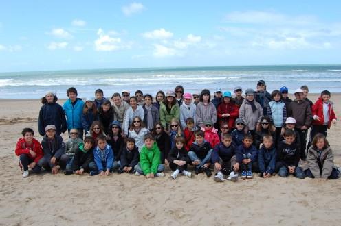 Ecole La Chapelle Heulin classe de mer